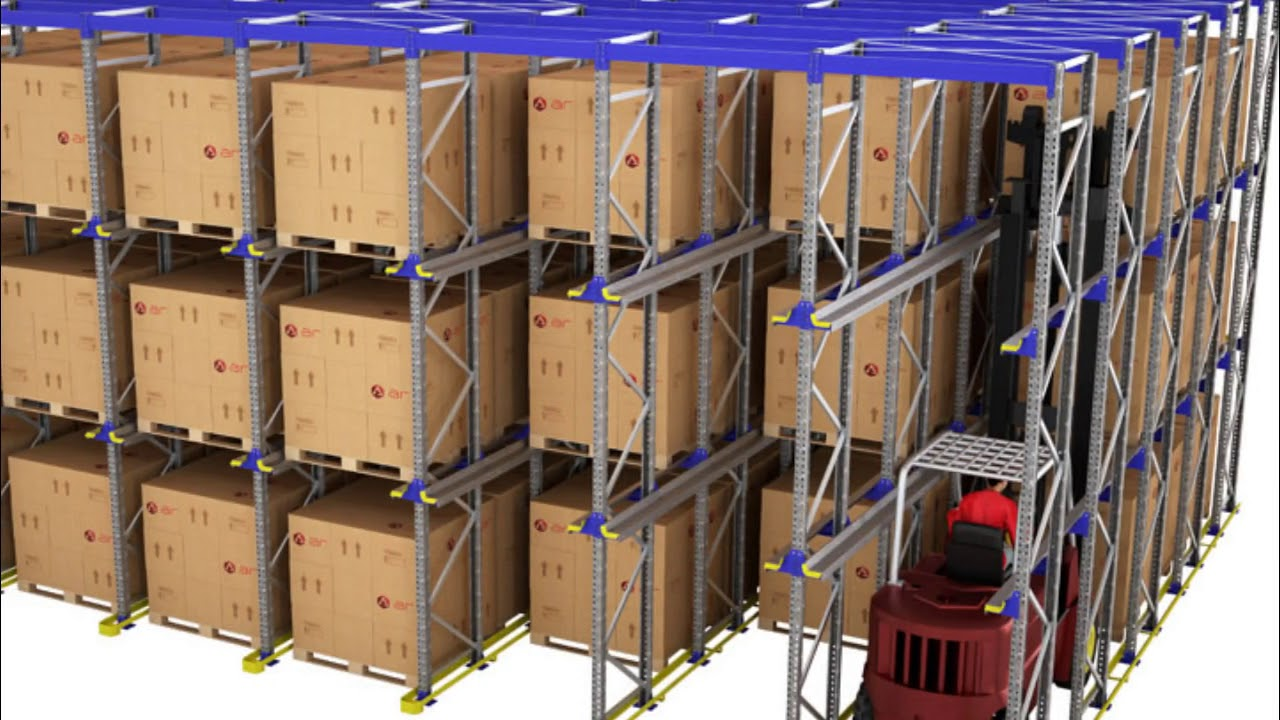 Drive-In Racking Systems - RackingDIRECT