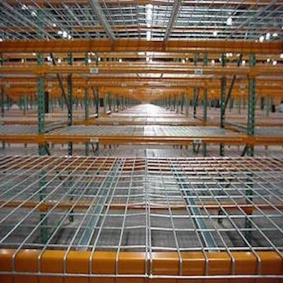 Wire Mesh Decks from RackingDIRECT