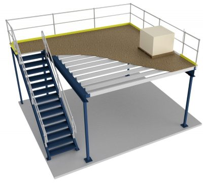 Free-Standing Mezzanines from RackingDIRECT
