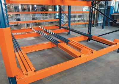 Push Back Racking Systems for DIstribution Industries - RackingDIRECT