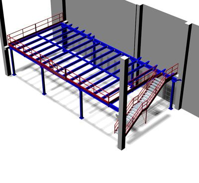 Structural Steel Mezzanines from RackingDIRECT